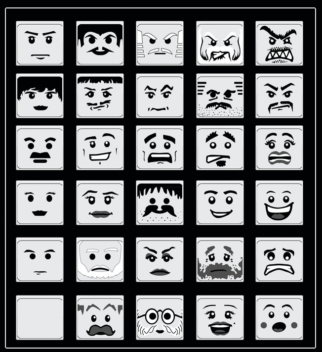 LEGO Pictorial Scales For Assessing Affective Response
