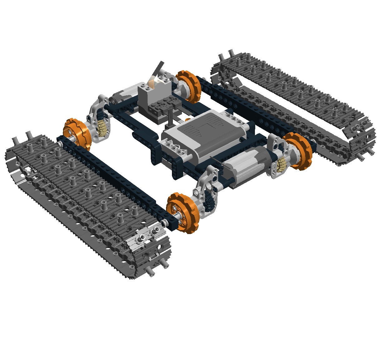 Building an off road car with lego technic christoph for A m motors