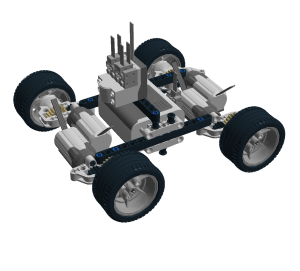 Ultra Light LEGO Car