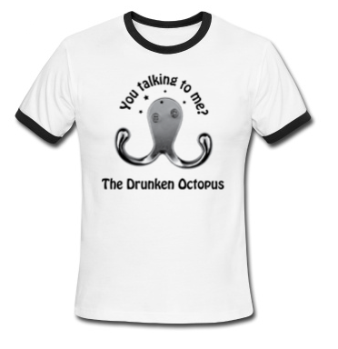The drunken octopus wants to fight you