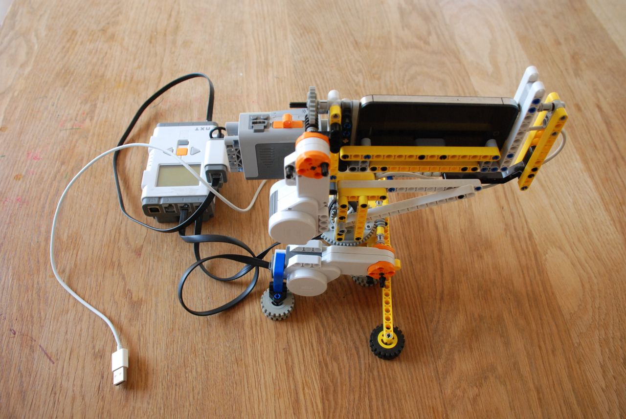 Camera Lego Mindstorm : Spherical degree panorama with lego mindstorms motorized head