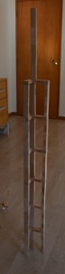 128.6 cm tall Jenga tower