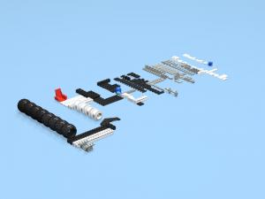 Imported parts through Bricklink inventory