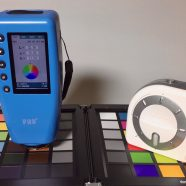 Comparison of color measurement accuracy of ColorMunki Design and FRU WR-10QC Colorimeter