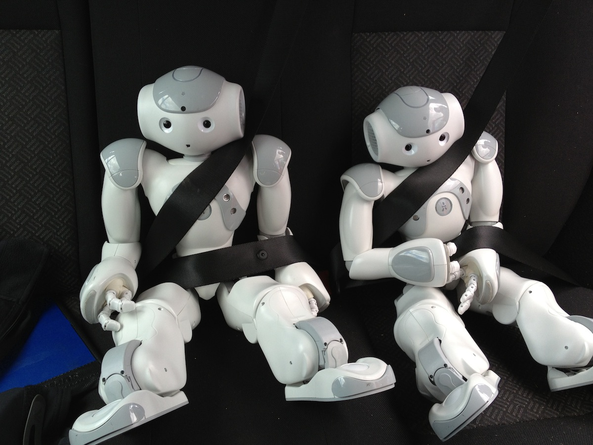 Travel safety for robots