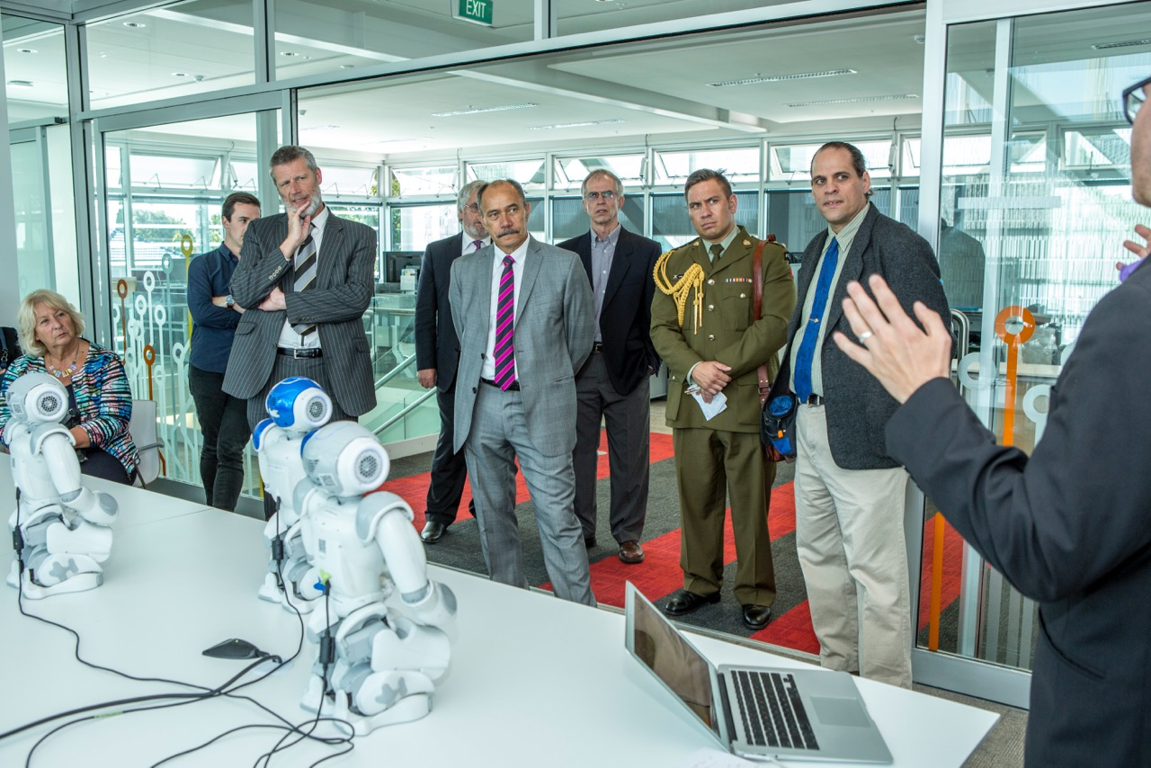 Governor General visits the HIT Lab NZ