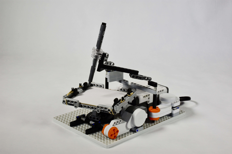 Easy LEGO Mindstorms Spirograph | Christoph Bartneck, Ph D