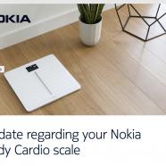 Nokia's Body Cardio Scale Will Remove Pulse Wave Velocity