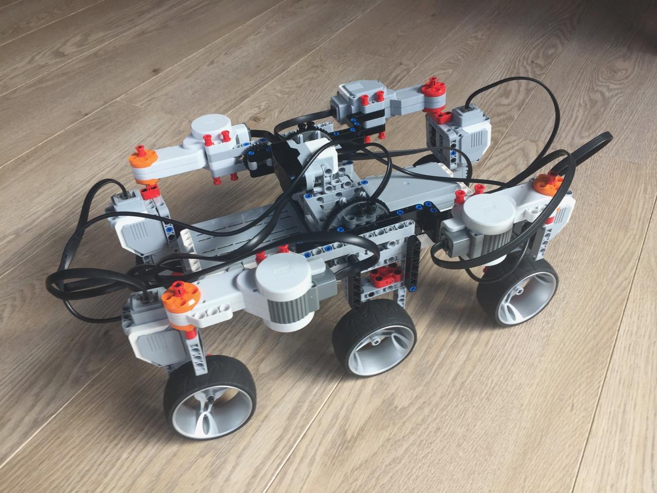 Simple LEGO Mindstorms Mars Rover | Christoph Bartneck, Ph D