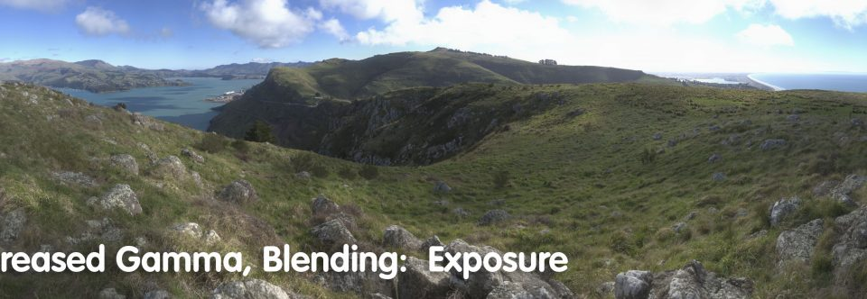 Exposure bracketing and rendering in AutoPano Pro