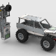 LEGO Digital Crawler with EV3 Controlled Gear Box
