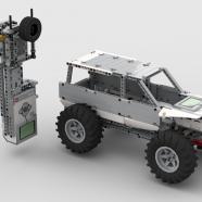LEGO Digital Crawler with EV3 Controlled Gear Box