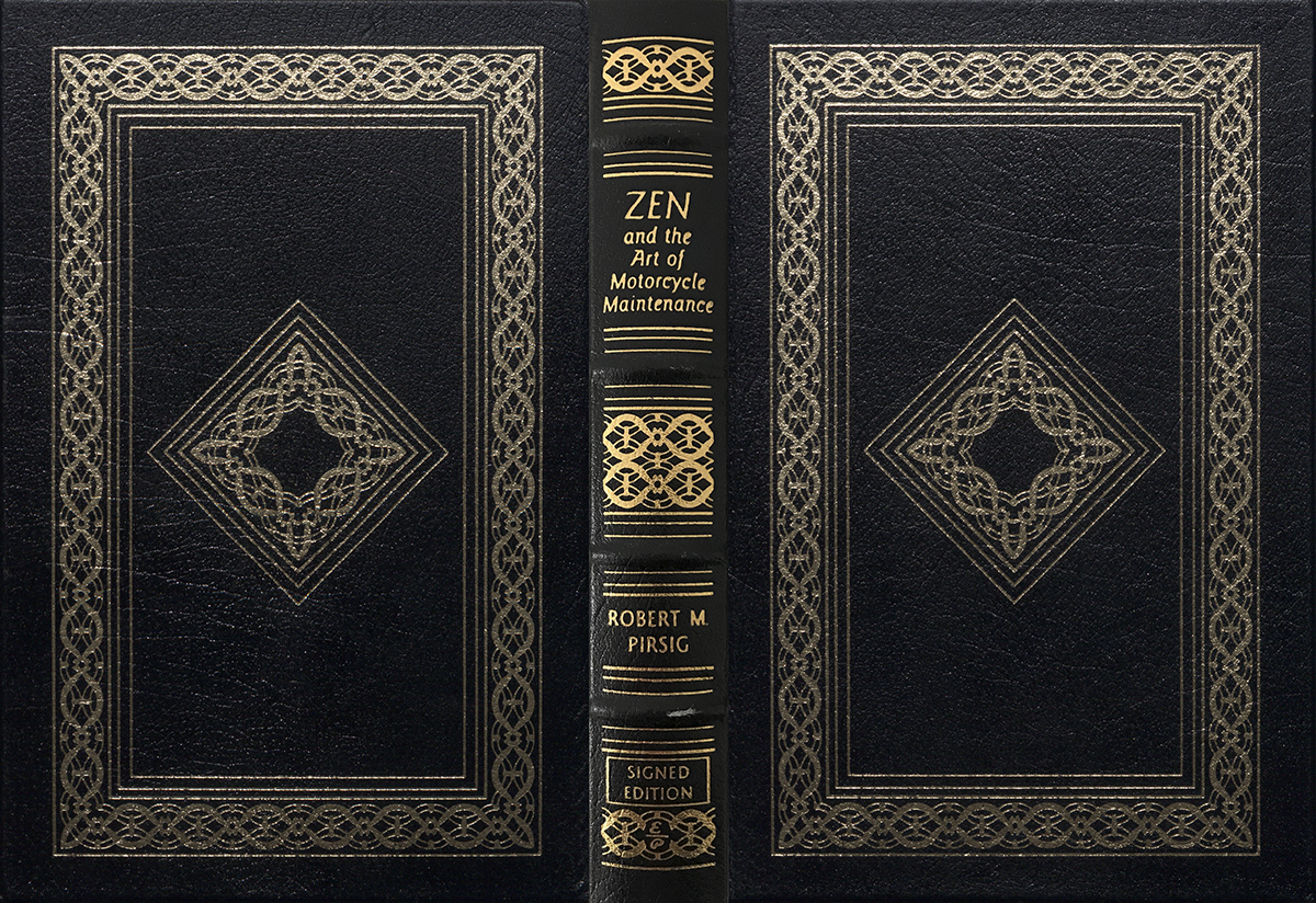 The Design History of Robert M. Pirsig's Books