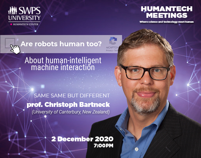 Invited Talk At The HumanTech Meetings